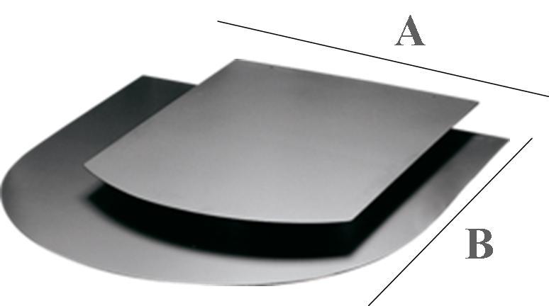 plaque de protection au sol - réf. - chauffage - accessoires