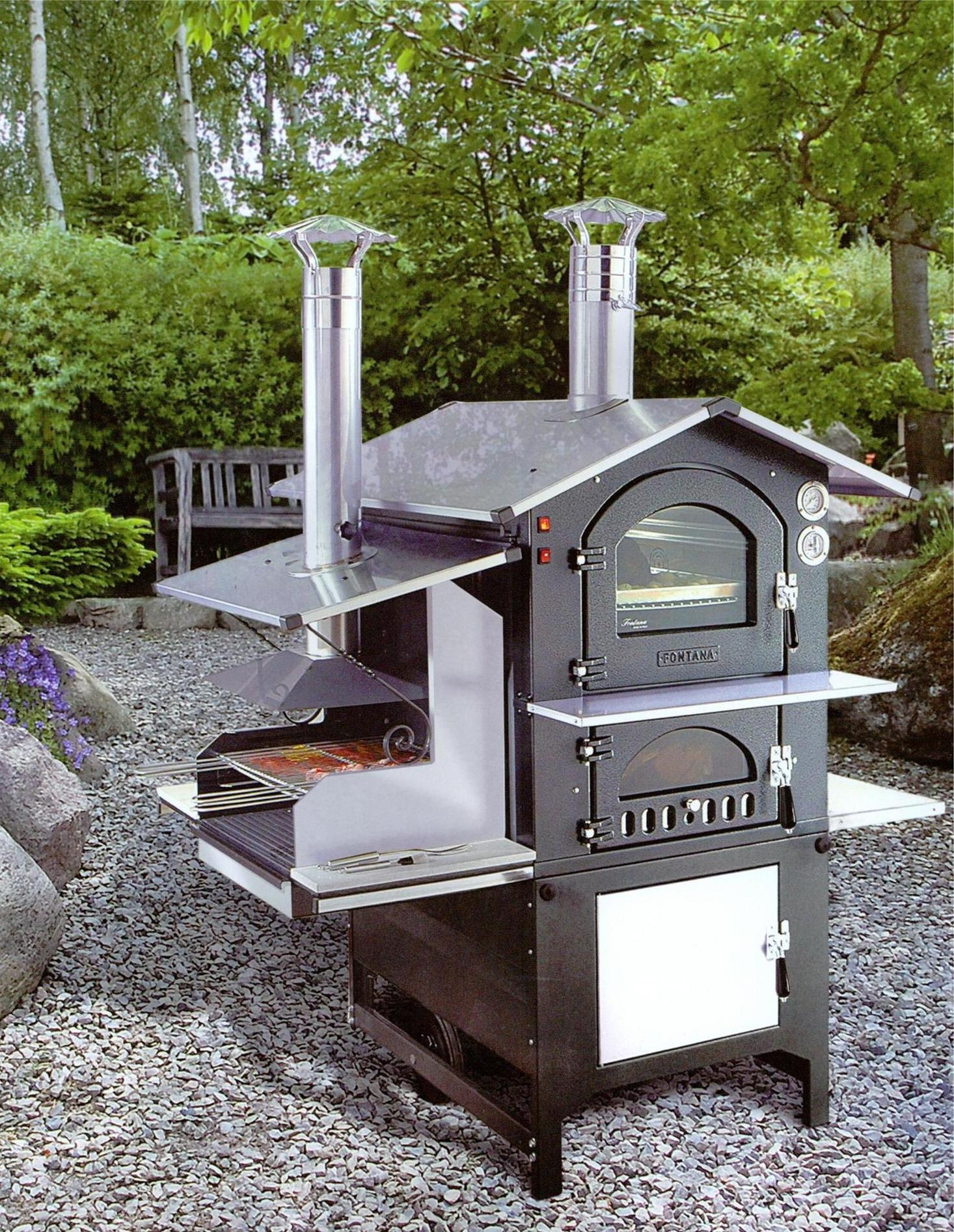 Gusto combi r f am nagement ext rieur cuisine for Barbecue exterieur leroy merlin