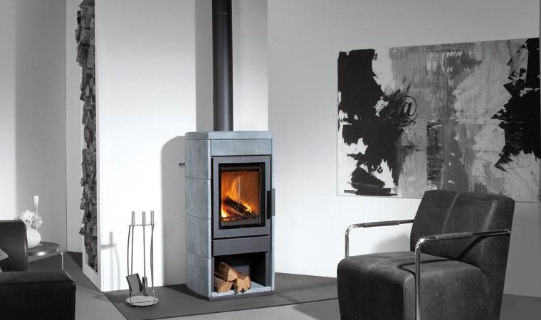 olaf eco rund r f chauffage po les bois accumulation espace po le scandinave. Black Bedroom Furniture Sets. Home Design Ideas