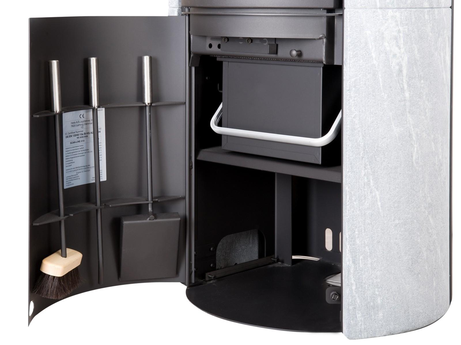 heta sl 820 s vitr r f chauffage po les bois design espace po le scandinave. Black Bedroom Furniture Sets. Home Design Ideas