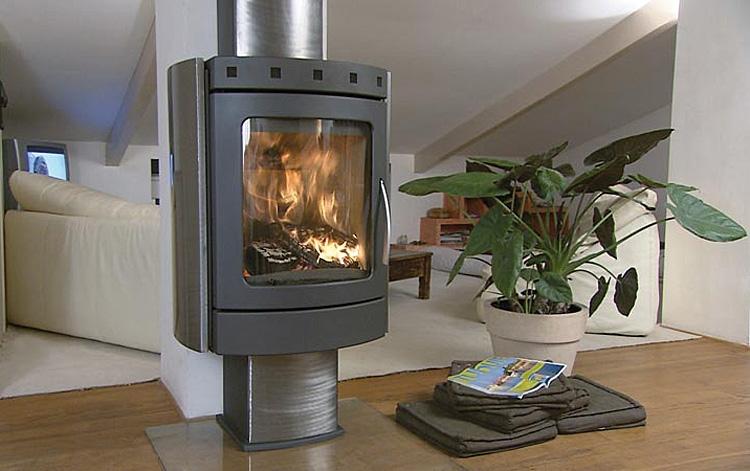 po le bois versailles r f chauffage po les bois contemporain espace po le scandinave. Black Bedroom Furniture Sets. Home Design Ideas
