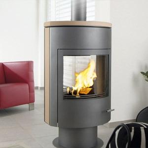 po le bois ganz rumba loft r f chauffage po les. Black Bedroom Furniture Sets. Home Design Ideas