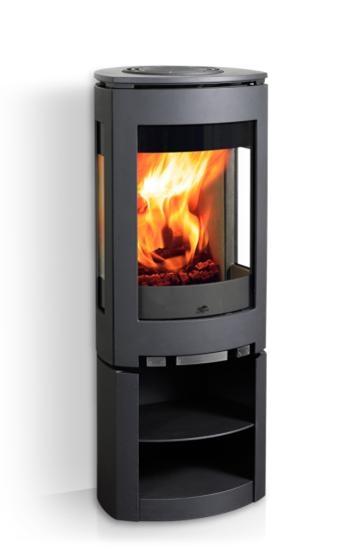 jotul f 371 r f chauffage po les bois po le bois tout fonte espace po le scandinave. Black Bedroom Furniture Sets. Home Design Ideas