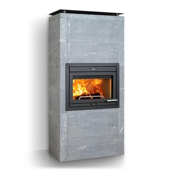 Jotul fs 165 r f chauffage po les bois accumulation espace po - Poele a granule jotul prix ...