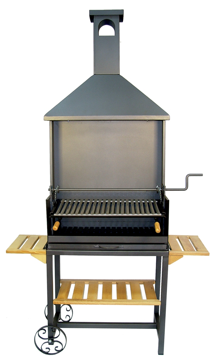 Barbecue chemin e r f am nagement ext rieur cuisine - Cheminee barbecue exterieur ...