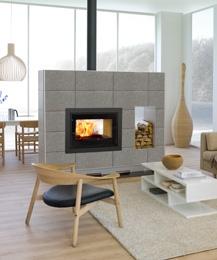 scan dsa 12 r f chauffage po les bois po le bois encastrable. Black Bedroom Furniture Sets. Home Design Ideas