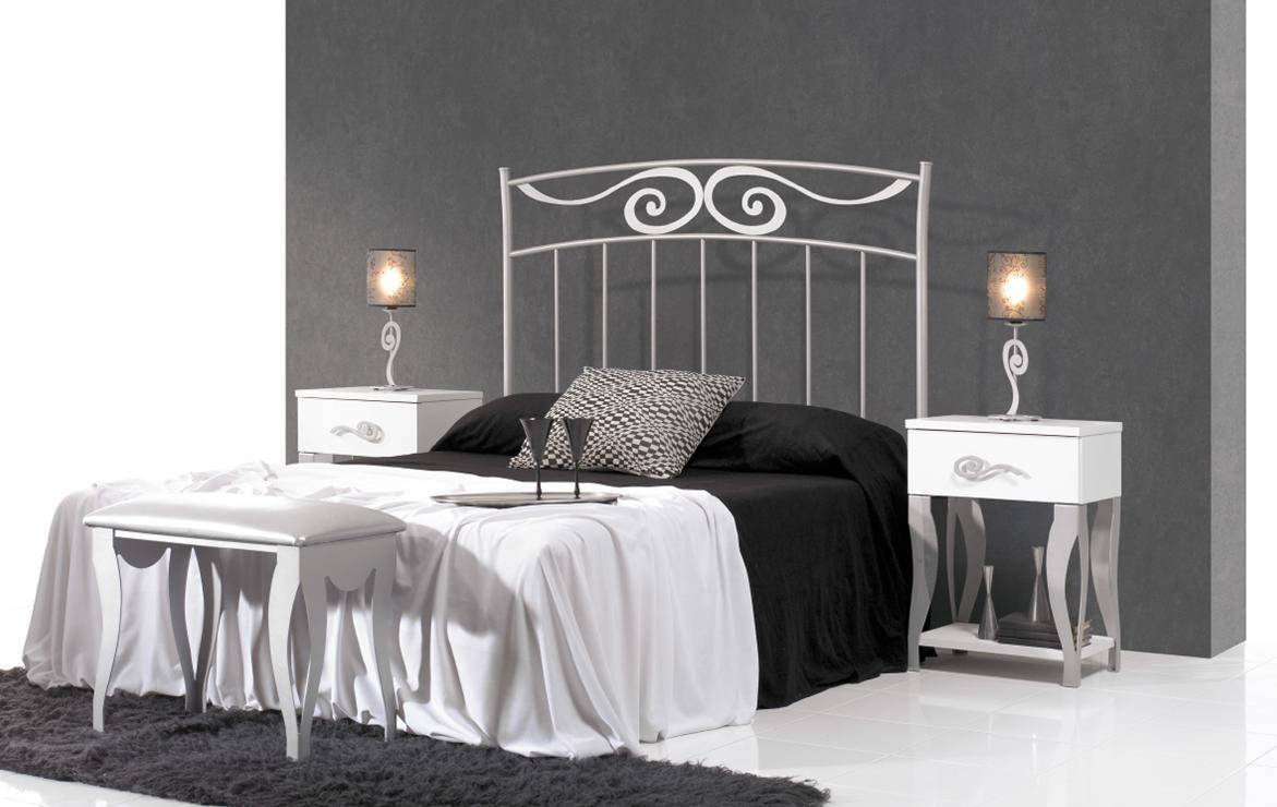 Salon Blanc Bois Noir : Tête de lit ana réf mobilier chambre à coucher espace