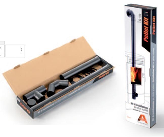 kit tuyaux pour po le granul s r f conduits de fum e tuyaux et conduits pour po les. Black Bedroom Furniture Sets. Home Design Ideas