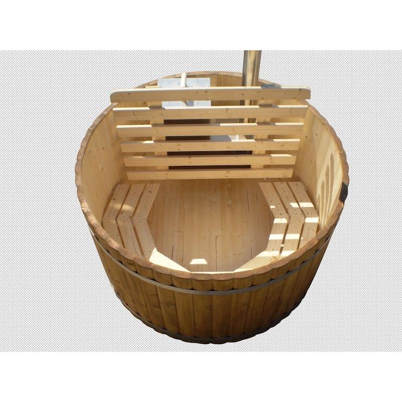 hot tub en pic a 170 ou 200 cm r f d tente spa bains nordiques espace po le scandinave. Black Bedroom Furniture Sets. Home Design Ideas